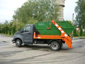 Вывоз мусора контейнер ПУХТО 12м3 и 6м3 в Парголово