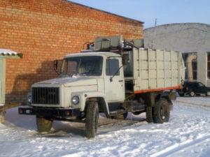 Вывоз мусора контейнер ПУХТО 14м3 в Красном Бору