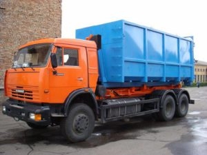 Вывоз мусора пухто 20м3 и 27м3 в Лехтусях